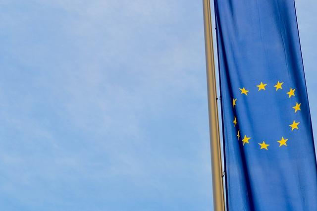 Bandiera dell'UE (Immagine ex Pixabay)