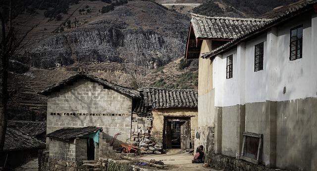 villaggio rurale Immagine ex Pixabay